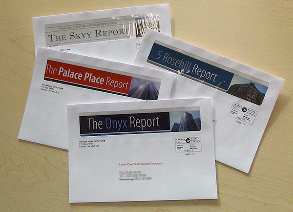 New Window Envelopes for your Precision Realty Sweep™