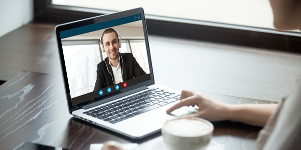 How to host a video coffee chat to impress future clients