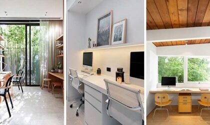Creative places in your home to set up an office